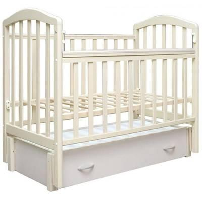 Кроватка с маятником Антел Алита 6 (слоновая кость) кроватка с маятником sweet baby eligio avorio слоновая кость