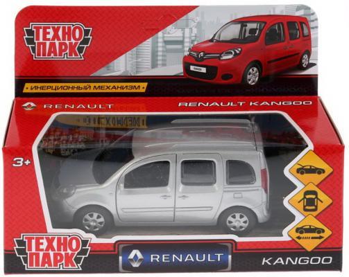 "Автомобиль Технопарк "",Renault Kangoo"", 1:12 серебристый"