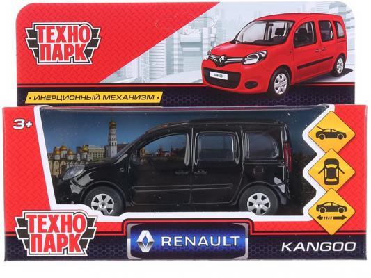 Купить Инерционная машинка Технопарк Renault Kangoo 1:12 черный, ТЕХНОПАРК, Детские модели машинок