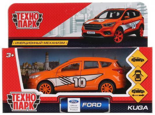 "Инерционная машинка Технопарк "",Ford Kuga. Спорт"", оранжевый"