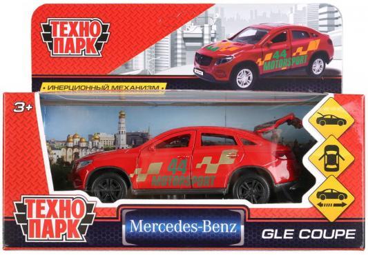 Инерционная машинка Технопарк Mercedes-Benz Gle Coupe красный машинка радиоуправляемая mz mercedes benz 2370pf