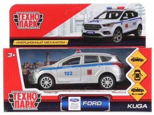 Полицейская машина ТЕХНОПАРК Ford Kuga Полиция разноцветный 12 см