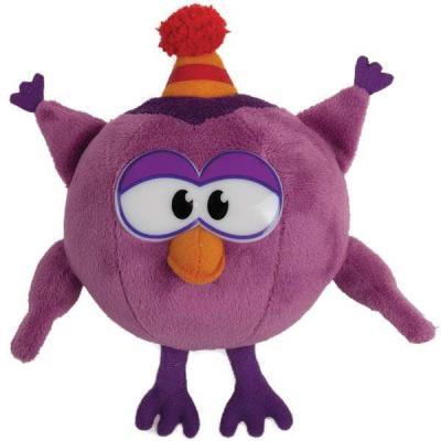 Мягкая игрушка сова МУЛЬТИ-ПУЛЬТИ Совунья плюш пластик ткань 10 см