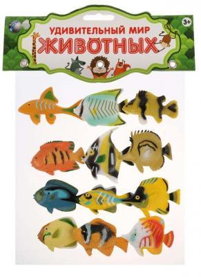 Купить Набор фигурок TongDe Набор из 12-и рыбок, Детские фигурки