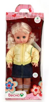 Кукла ВЕСНА Инна 39 43 см со звуком куклы и одежда для кукол весна кукла инна 13 озвученная 43 см