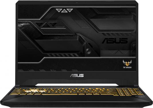 Ноутбук ASUS TUF Gaming FX505GM-BN274 15.6 1920x1080 Intel Core i5-8300H 1 Tb 256 Gb 16Gb Bluetooth 5.0 nVidia GeForce GTX 1060 6144 Мб черный серый Без ОС 90NR0131-M05190