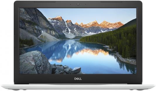 Ноутбук Dell Inspiron 5570 Core i5 8250U/8Gb/1Tb/DVD-RW/AMD Radeon 530 2Gb/15.6/FHD (1920x1080)/Linux/white/WiFi/BT/Cam