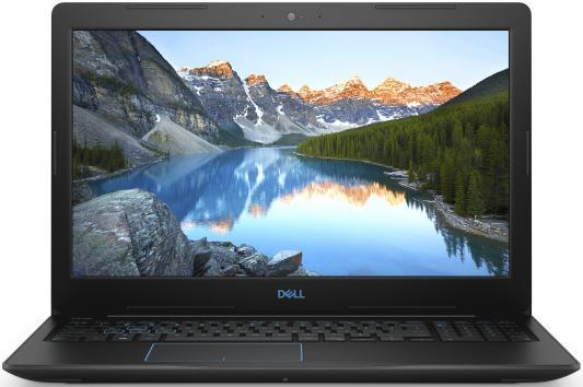 Ноутбук Dell G3 3779 Core i5 8300H/8Gb/1Tb/SSD128Gb/nVidia GeForce GTX 1050 4Gb/17.3/IPS/FHD (1920x1080)/Windows 10/black/WiFi/BT/Cam