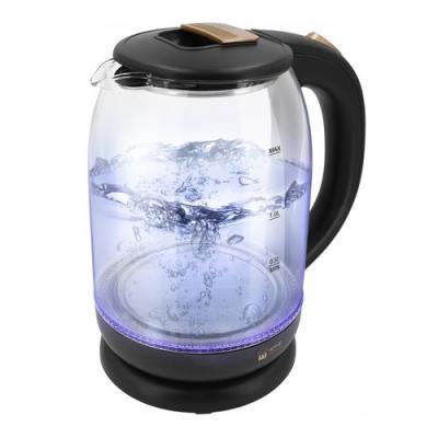 Чайник электрический HOME ELEMENT HE-KT191 1800 Вт черный жемчуг 2 л стекло