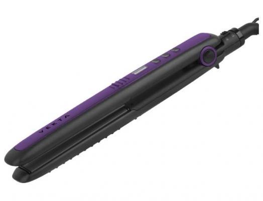 VEKTA HSD-0402 Выпрямитель черный/фиолетовый vekta hct 1901 щипцы для завивки черный фиолетовый