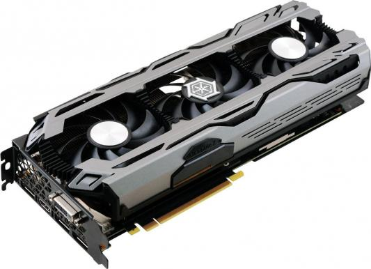 Видеокарта 8192Mb Inno3D GeForce GTX 1070 iChill X3 PCI-E 256bit GDDR5X DVI HDMI DP HDCP C107V3-1SDN-P5DNX БУ c107t4 1sdn p5dn