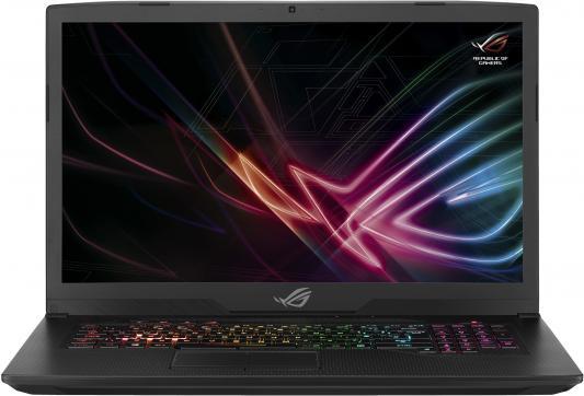 Ноутбук Asus GL703GM-EE224T i5-8300H (2.3)/8G/1T+128G SSD/17.3 FHD AG 120Hz/NV GTX1060 6G/noODD/BT/Win10 Gunmetal ноутбук dell alienware 15 r4 i5 8300h 2 3 8g 1t 128g ssd 15 6 fhd ag ips nv gtx1060 6g backlit win10 a15 7695 silver