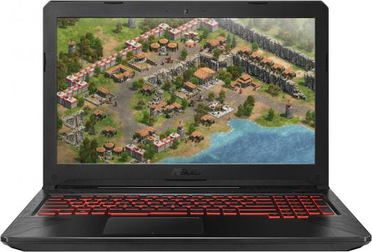 Ноутбук ASUS FX504GM-E4411 15.6 1920x1080 Intel Core i5-8300H 1 Tb 128 Gb 8Gb Wi-Fi nVidia GeForce GTX 1060 3072 Мб черный DOS 90NR00Q3-M08950
