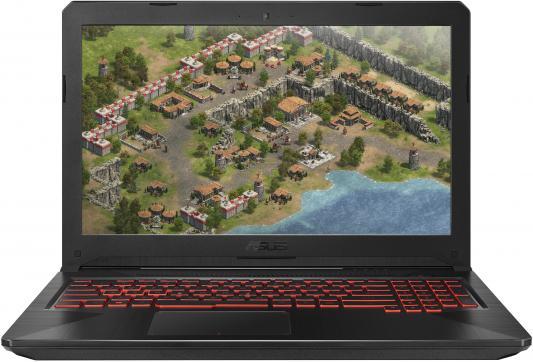 Ноутбук ASUS FX504GD-E41147 15.6 1920x1080 Intel Core i7-8750H 1 Tb 128 Gb 16Gb nVidia GeForce GTX 1050 4096 Мб черный DOS 90NR00J3-M20270