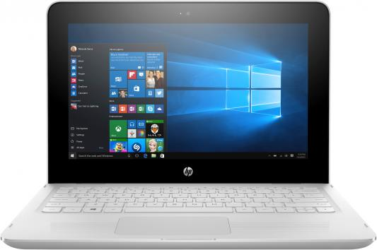 Трансформер HP x360 11-ab193ur Celeron N4000/4Gb/500Gb/Intel UHD Graphics 605/11.6/IPS/Touch/HD (1366x768)/Windows 10 64/white/WiFi/BT/Cam ноутбук acer extensa ex2519 p9dq pentium n3710 4gb 500gb dvd rw intel hd graphics 405 15 6 hd 1366x768 linux black wifi bt cam 3500mah