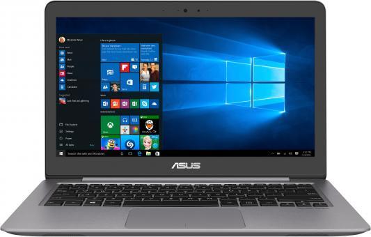 """купить Ноутбук Asus Zenbook UX310UA-FB1107 Core i3 7100U/8Gb/SSD128Gb/Intel HD Graphics 620/13.3""""/IPS/QHD+ (3200x1800)/Endless/grey/WiFi/BT/Cam/Bag по цене 44550 рублей"""