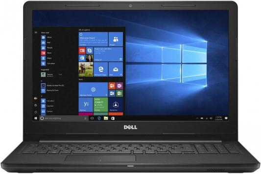 "Ноутбук Dell Inspiron 3565 A9 9425/8Gb/1Tb/DVD-RW/AMD Radeon R5/15.6""/HD (1366x768)/Windows 10/black/WiFi/BT/Cam цены"