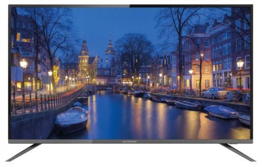 Телевизор LED Hyundai 50 H-LED50F452BS2 черный/FULL HD/60Hz/DVB-T/DVB-T2/DVB-C/DVB-S2/USB (RUS) телевизор led lg 32 32lv300c черный full hd 60hz dvb t2 dvb c dvb s2 usb rus