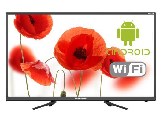 Телевизор LED Telefunken 32 TF-LED32S82T2S черный/HD READY/50Hz/DVB-T/DVB-T2/DVB-C/USB/WiFi/Smart TV (RUS)