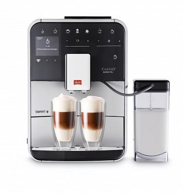 Кофемашина Melitta Caffeo F 830-101 1450Вт серебристый/черный кофемашина melitta caffeo passione f 530 101 серебристая черная