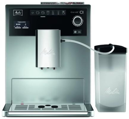 Кофемашина Melitta Caffeo CI 1450Вт серебристый цены