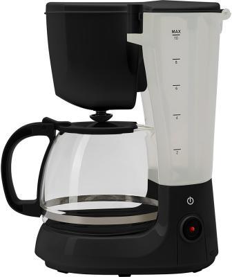 Кофеварка капельная Polaris PCM 1214 750Вт черный кофеварка капельная polaris pcm 1518ae