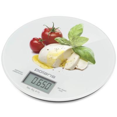 цена Весы кухонные электронные Polaris PKS 0835DG Caprese макс.вес:8кг рисунок