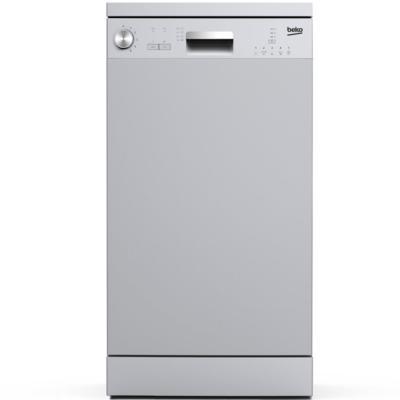 Посудомоечная машина Beko DFS05W13S серебристый