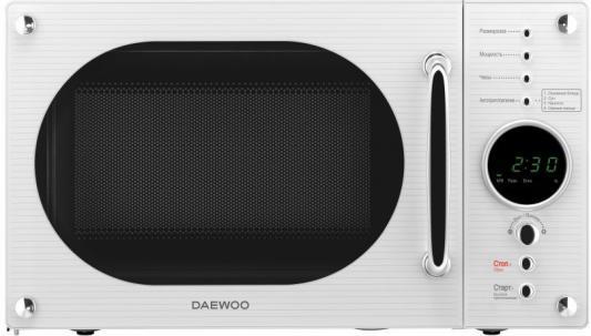 Микроволновая печь DAEWOO KOR-819RW 800 Вт белый daewoo kor 5a37w белый