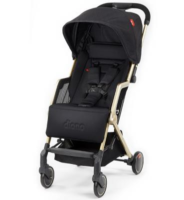 Купить Прогулочная коляска Diono Traverze Yellow (black cube/gold), черный, Прогулочные коляски