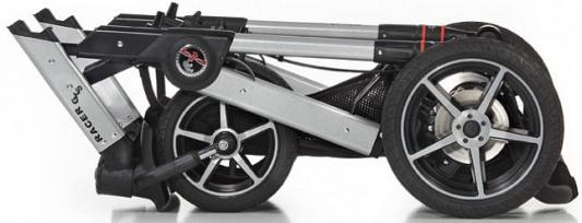 Купить Детская коляска Racer GTS XL 605 (без сумки), HARTAN, синий, Прогулочные коляски