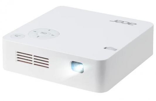 Фото - Проектор Acer C202i MR.JR011.001 854х480 - 5000:1 белый проектор