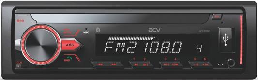Автомагнитола ACV AVS-813BM 1DIN 4x50Вт автомагнитола acv avs 811gd green