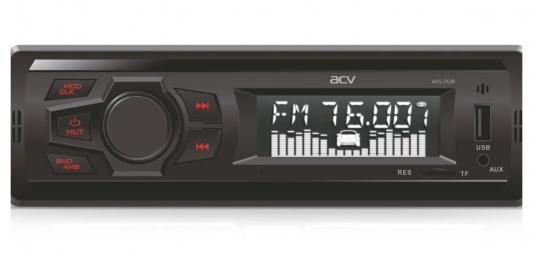 Автомагнитола ACV AVS-1701R 1DIN 4x15Вт автомагнитола acv avs 1701r red