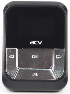 цена на Автомобильный FM-модулятор ACV FMT-112 черный MicroSD USB PDU (18069)