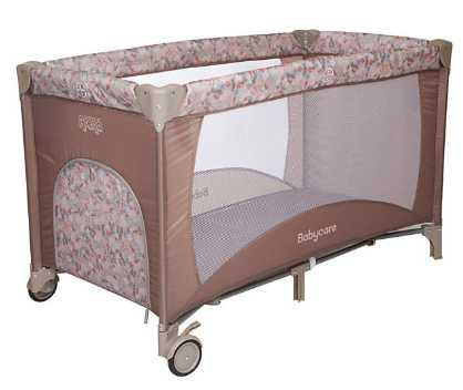 Манеж Baby Care Arena (коричневый) эргорюкзак baby care hs 3183 pink