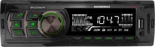 Автомагнитола Soundmax SM-CCR3063FB 1DIN 4x45Вт автомагнитола soundmax sm ccr3056f