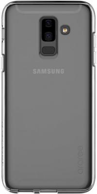 Чехол (клип-кейс) Samsung для Samsung Galaxy A6+ (2018) araree A Cover прозрачный (GP-A605KDCPAIA) клип кейс samsung clear cover для samsung galaxy s10 plus [ef qg975ctegru] прозрачный