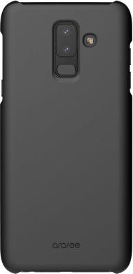 Чехол (клип-кейс) Samsung для Samsung Galaxy A6+ (2018) araree Aero черный (GP-A605KDCPBIA) чехол крышка skinbox diamond для samsung galaxy a6 2018 черный