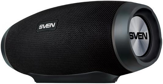цена Колонка порт. Sven PS-230 черный 12W 1.0 BT/USB