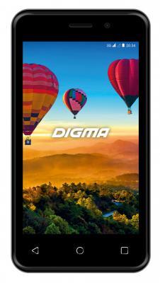 "Картинка для Смартфон Digma Alfa 3G Linx 4Gb 512Mb черный моноблок 3G 2Sim 4"" 480x800 Android 8.1 2Mpix 802.11bgn BT GPS GSM900/1800 GSM1900 TouchSc MP3 FM microSD max32Gb"