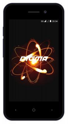 Смартфон Digma LINX ATOM 3G 4 Гб синий (LT4049PG) смартфон digma linx a420 3g 4гб белый dual sim 3g
