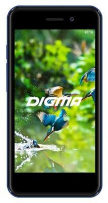 Смартфон Digma LINX A453 3G 8 Гб синий (LT4038PG)