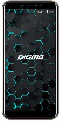 Смартфон Digma LINX PAY 4G 16 Гб золотистый digma linx a501 4g