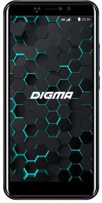 Смартфон Digma LINX PAY 4G 16 Гб черный digma linx a501 4g