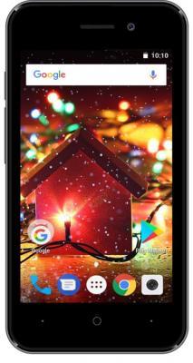 Смартфон Digma HIT Q401 3G 8 Гб серый (HT4039PG) фото