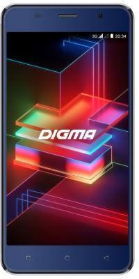 Смартфон Digma LINX X1 PRO 3G 16 Гб синий смартфон digma linx a420 3g 4гб белый dual sim 3g