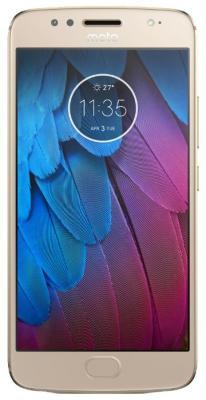 Смартфон Motorola XT1793 G5S 32Gb 3Gb золотистый моноблок 3G 4G 5.2 1080x1920 Android 7.1.1 16Mpix 802.11abgnac BT GPS GSM900/1800 GSM1900 TouchSc MP3 FM A-GPS microSD max128Gb смартфон motorola g5s 32 гб золотистый pa7w0022ru