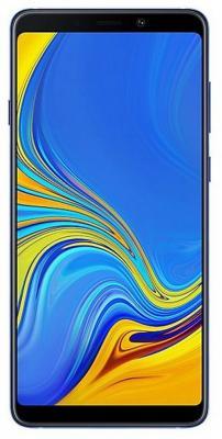 Смартфон Samsung Galaxy A9 2018 128 Гб синий (SM-A920FZBDSER) смартфон samsung galaxy s10 128 гб перламутровый sm g975fzwdser