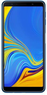 Смартфон Samsung Galaxy A7 2018 64 Гб синий (SM-A750FZBUSER)